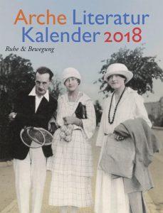 Arche Literaturkalender 2018